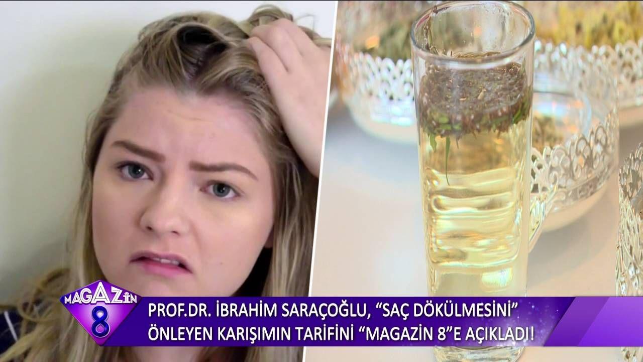 Prof Dr Ibrahim Saracoglu Sac Dokulmesini Onleyen Karisimin