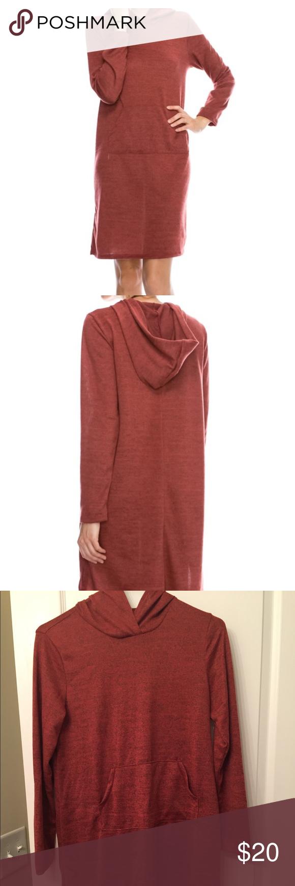 Long Sleeve Hoodie Dress Brand New Red Hoodie Dress Never Warn Super Soft Great For Looking Nice But Also Being Co Dress Brands Hoodie Dress Clothes Design [ 1740 x 580 Pixel ]