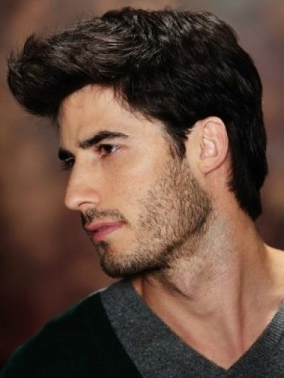 Casaul Dark Brown Hair For Men Hairstyles For Men Pinterest