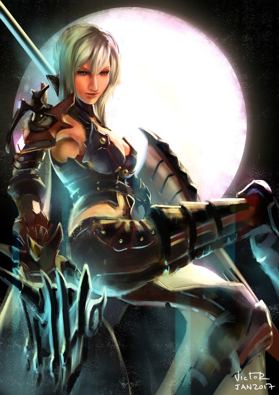 Aranea Highwind by victortienyu on DeviantArt | Final ...  Final Fantasy Female Characters Wallpaper