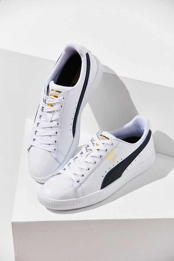 low priced 5b269 cdd6e Puma Clyde Core Foil Sneaker | Outfits | Sneakers, Sneakers ...