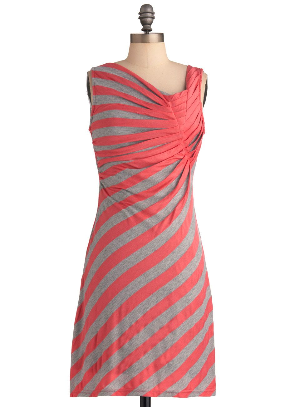 e9f683f4adf  19.99 Spread the Style Dress in Coral - Mid-length