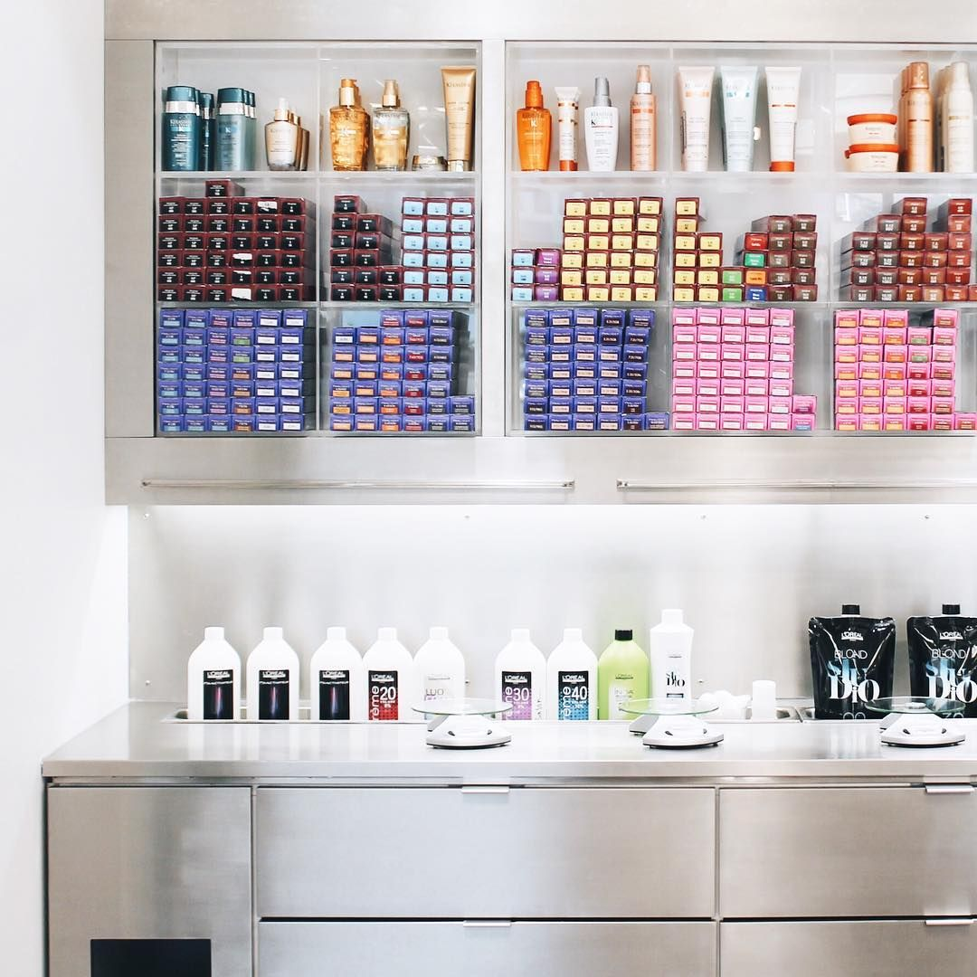 Call Now To Book At 801 226 2300 Ps Isn T The New Lehi Color Bar The Prettiest Salon Decor Beauty Room