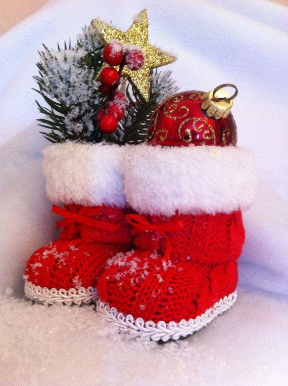 Décoration Bottes de Noël