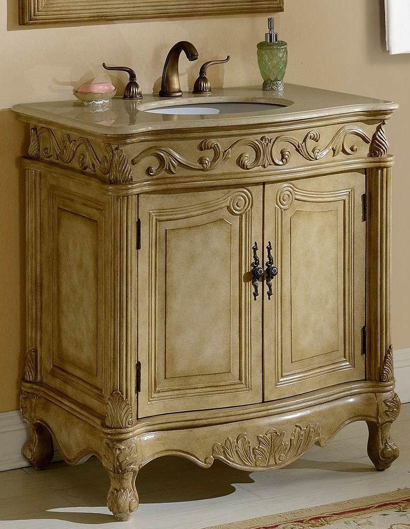 32inch Mia Vanity Country French Style Vanity French Style Bathroom Single Bathroom Vanity Bathroom Vanity Vanity Set [ 1056 x 819 Pixel ]