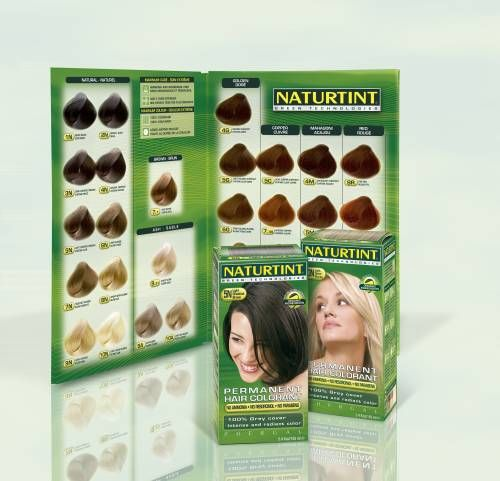 Naturtint colour chart i want to try this hair product and the