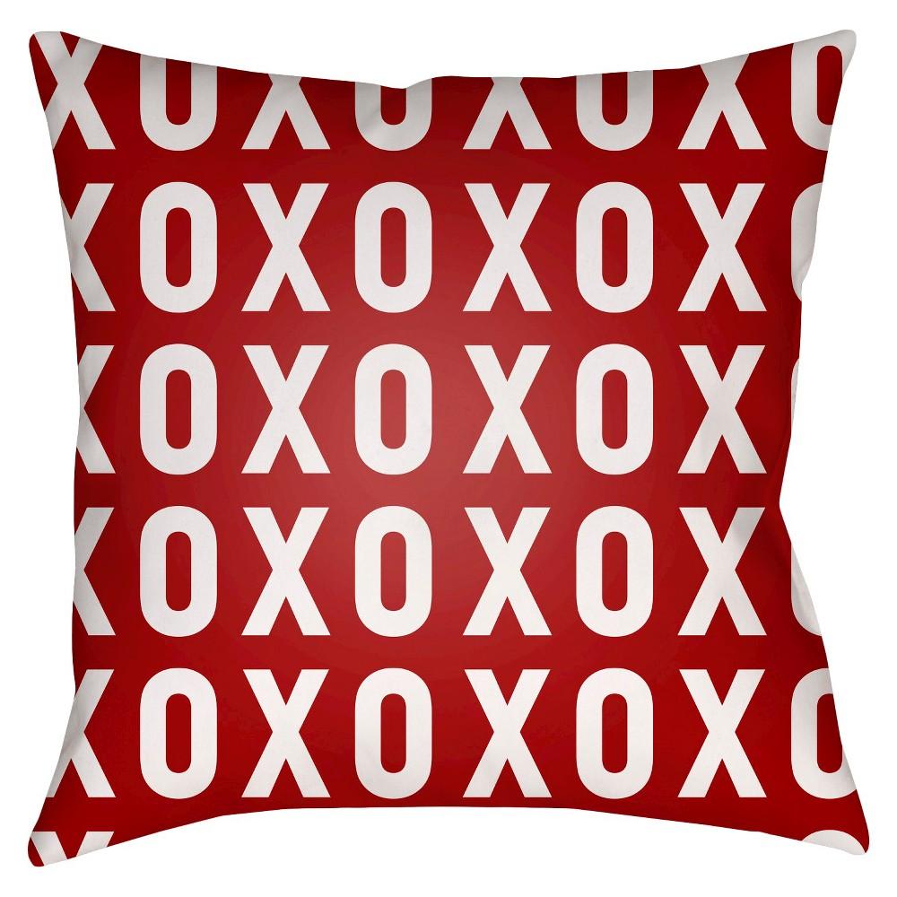 Hug Me-Kiss Me Throw Pillow -