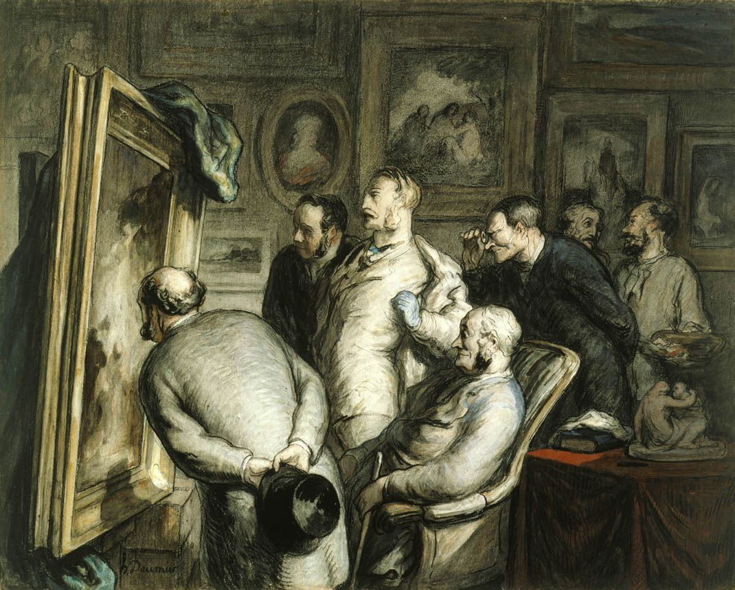 honore daumier ink - Google Search
