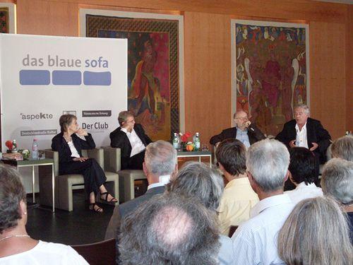 Peter Schneider, Norbert Lammert,  Elisabeth Schwarz, Jürgen Flimm + Hans Neuenfels