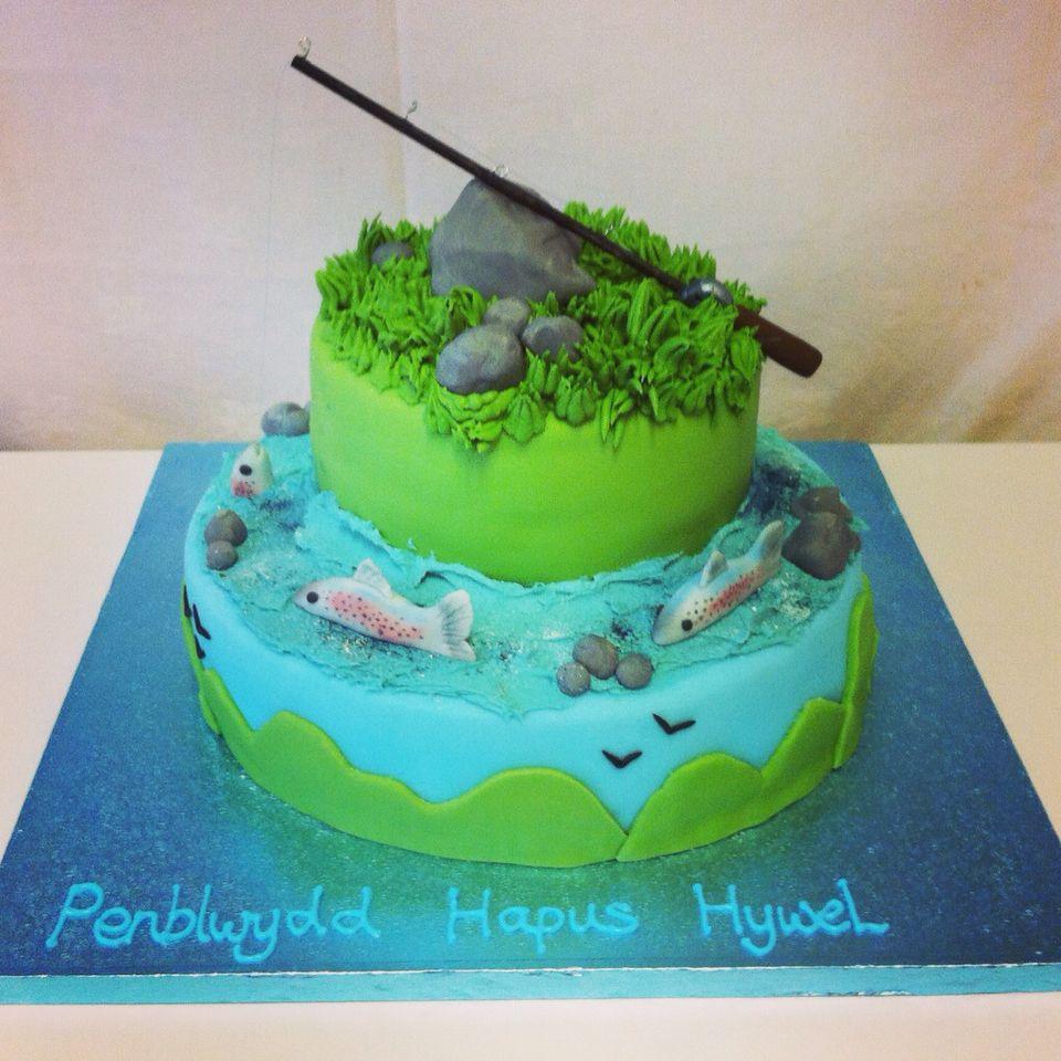 Fishing cake my celebration cakes pinterest bakery design