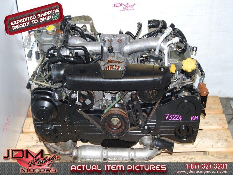 JDM EJ205 2.0L Engine Quad Cam AVCS WRX 02-05 Turbo DOHC ...