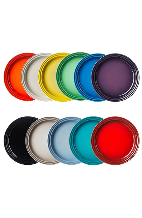 Unik Dinner Plate From Le Creuset - mathwatson WJ58