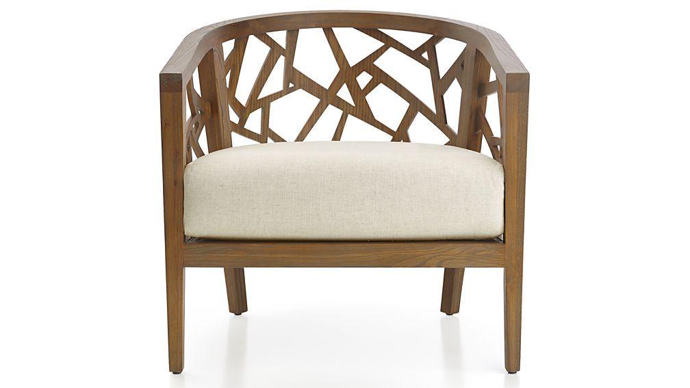 Ankara grey wash frame chair with fabric cushion reviews