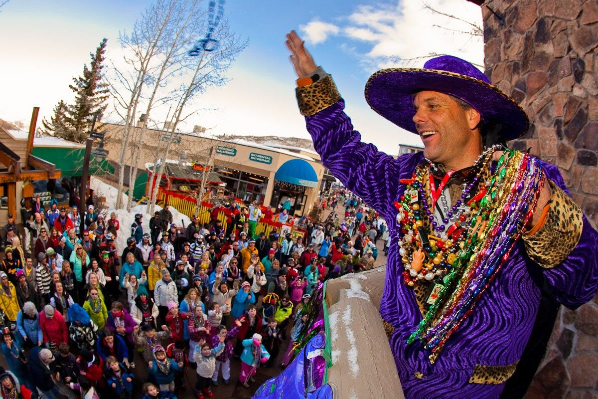 Celebrate Mardi Gras in Breckenridge this year! Spring