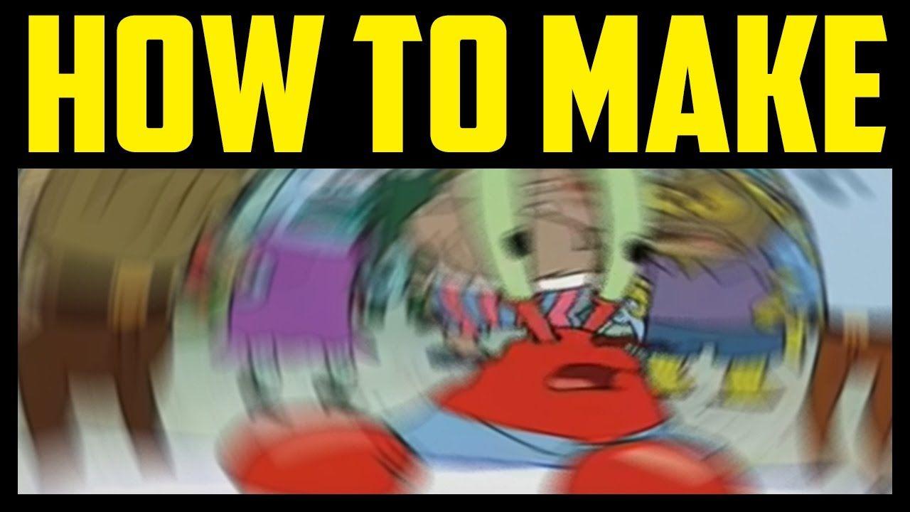 How To Make Mr Krabs Meme Blur In Photoshop 2017 Quick Easy Confus Photoshop Mr Krabs Memes