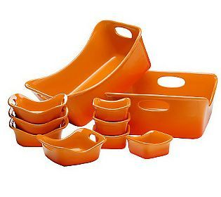 Rachael Ray 10-piece Gradient Bubble & Brown Set | Purchases ...