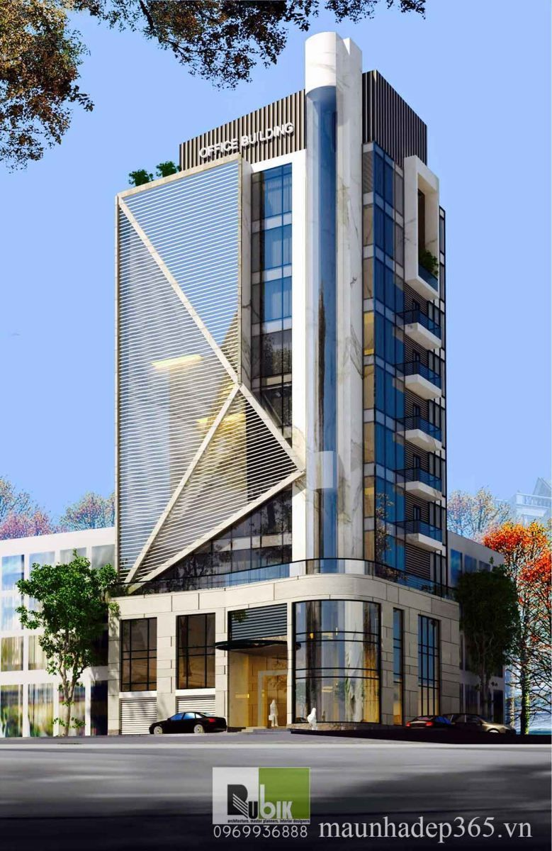 Office Trang An Commercial Architecture Facade Architecture Contemporary Building
