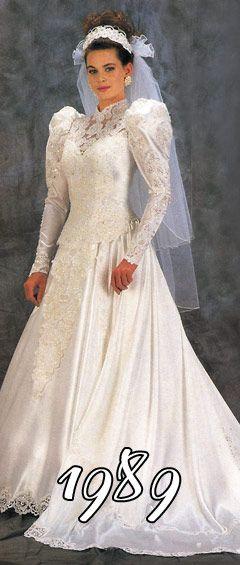 vestidos de novia 1989