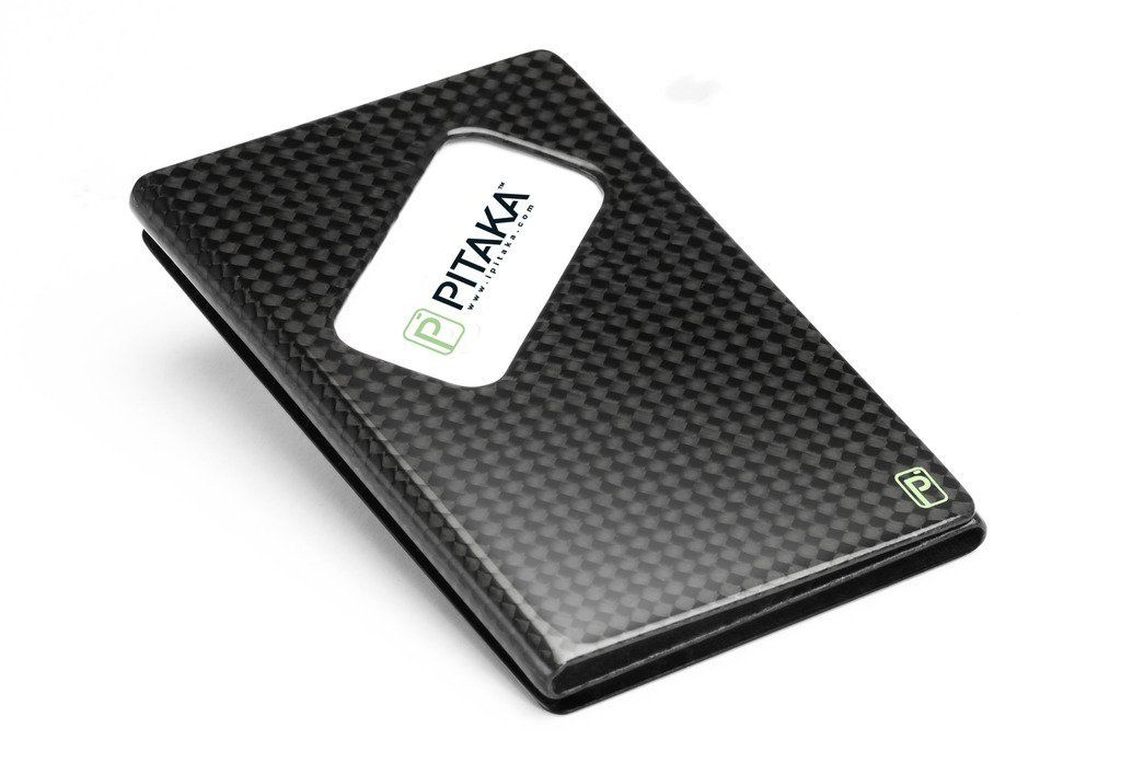 Amazon.com: pitaka® Carbon Luxury Glossy Finish business card holder ...