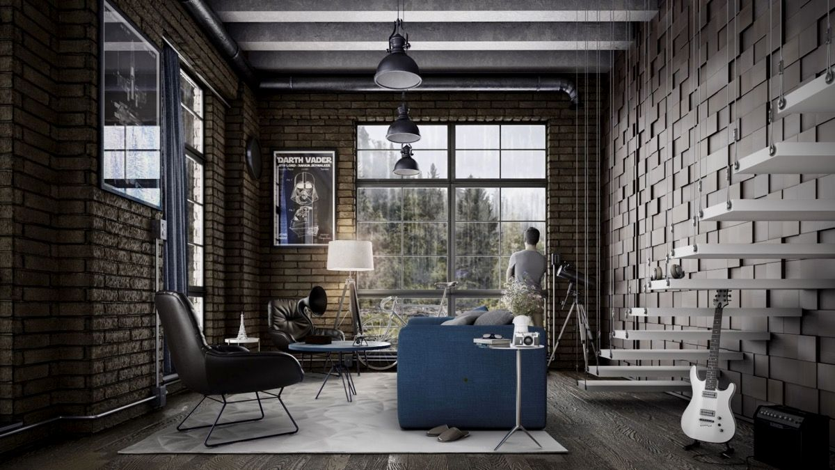 Beautiful Urban Industrial Decor Ideas To Complete Your Urban Ap