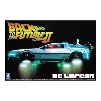 Aoshima 1 24 Back To The Future De Lorean Part Ii 6803701927 Oficjalne Archiwum Allegro Delorean Delorean For Sale Back To The Future