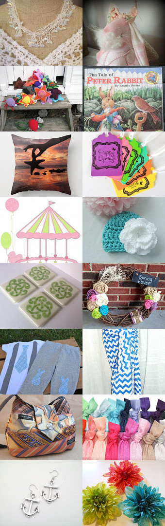 Spring fever  by Blue Suede Stitches on Etsy--Pinned with TreasuryPin.com