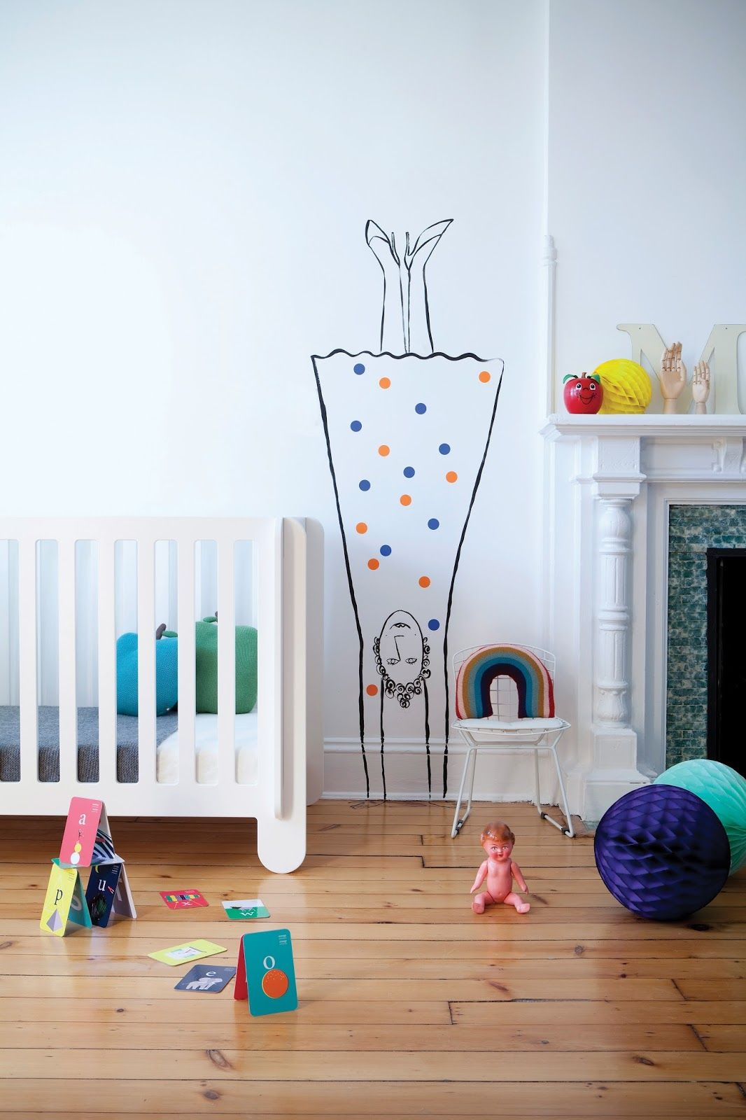 Superb Just Draw On The Wall A Fun And Relaxed Childrens Room By Oeuf