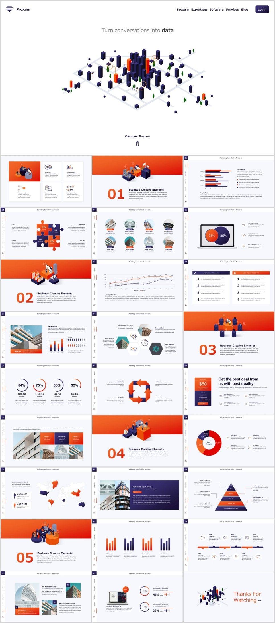 28 business chart powerpoint presentations template chart