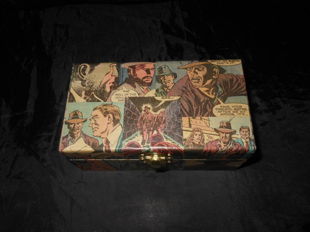 Indiana Jones Hand Decor Small Storage Gift Box Chest Unique Home Decor #Unbranded #Novelty