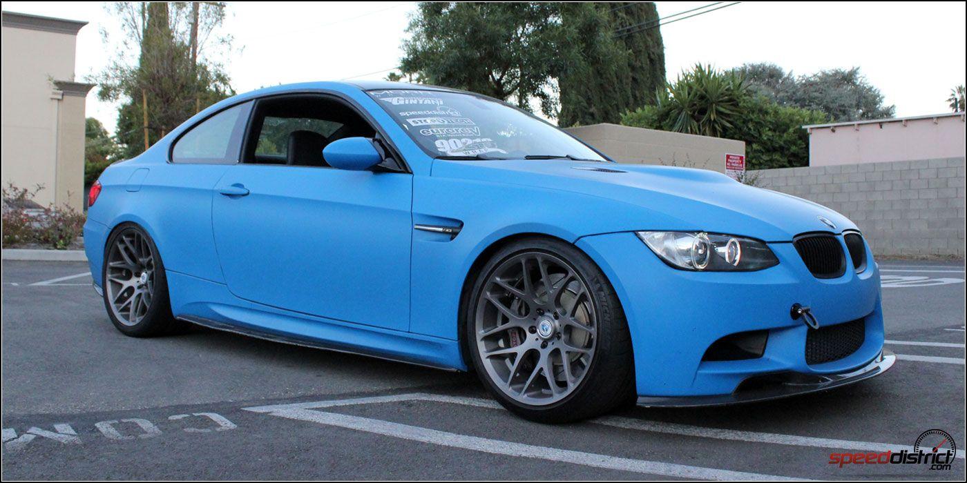 Matte Blue M3 With Morr Wheels Bmw M3 Forum Com E30 M3 E36 M3
