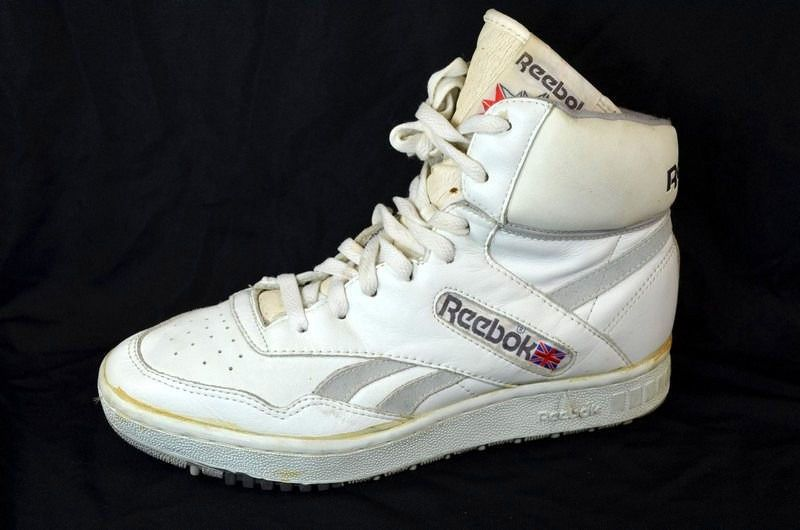 Size 8.5 42.5) 80s Vintage REEBOK BB4600 High Top BASKETBALL SHOES ... c5ce1f042