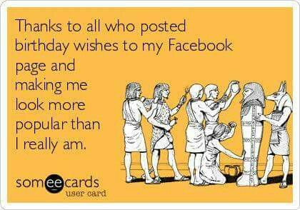 Thanks For The Bday Wishes On Fb Lol