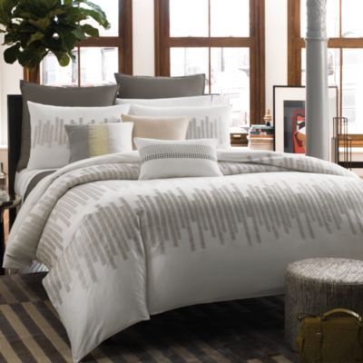 Kenneth Cole Reaction Home Frost Duvet Cover 100 Cotton 300