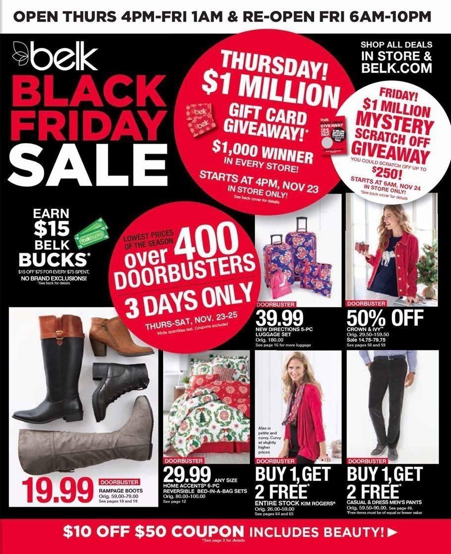 Belk 2019 Black Friday Ad Belk Black Friday Black Friday Ads Walmart Black Friday Ad