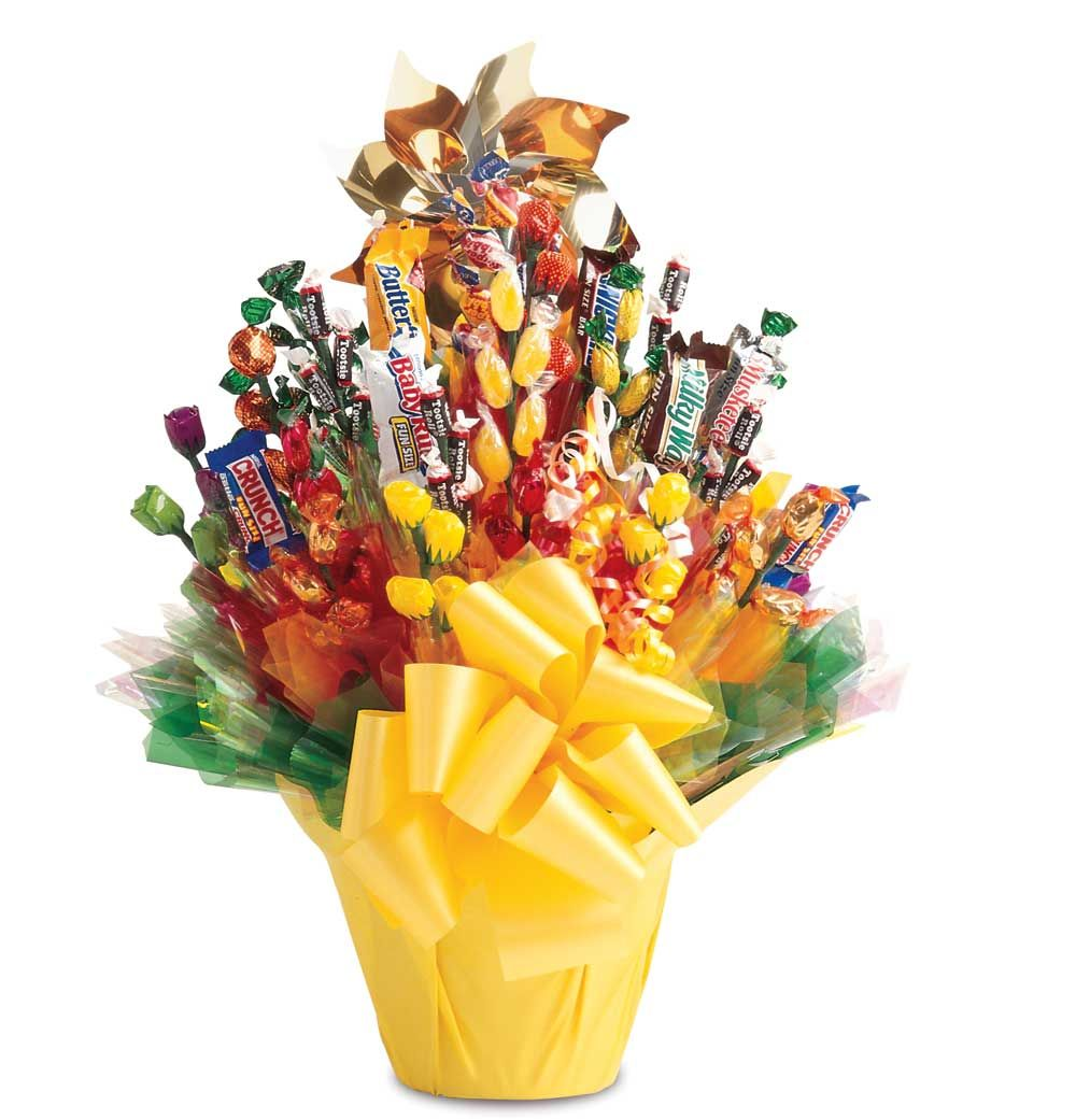 Unique Candy Bouquet | Gifted | Pinterest | Candy bouquet, Gift ...