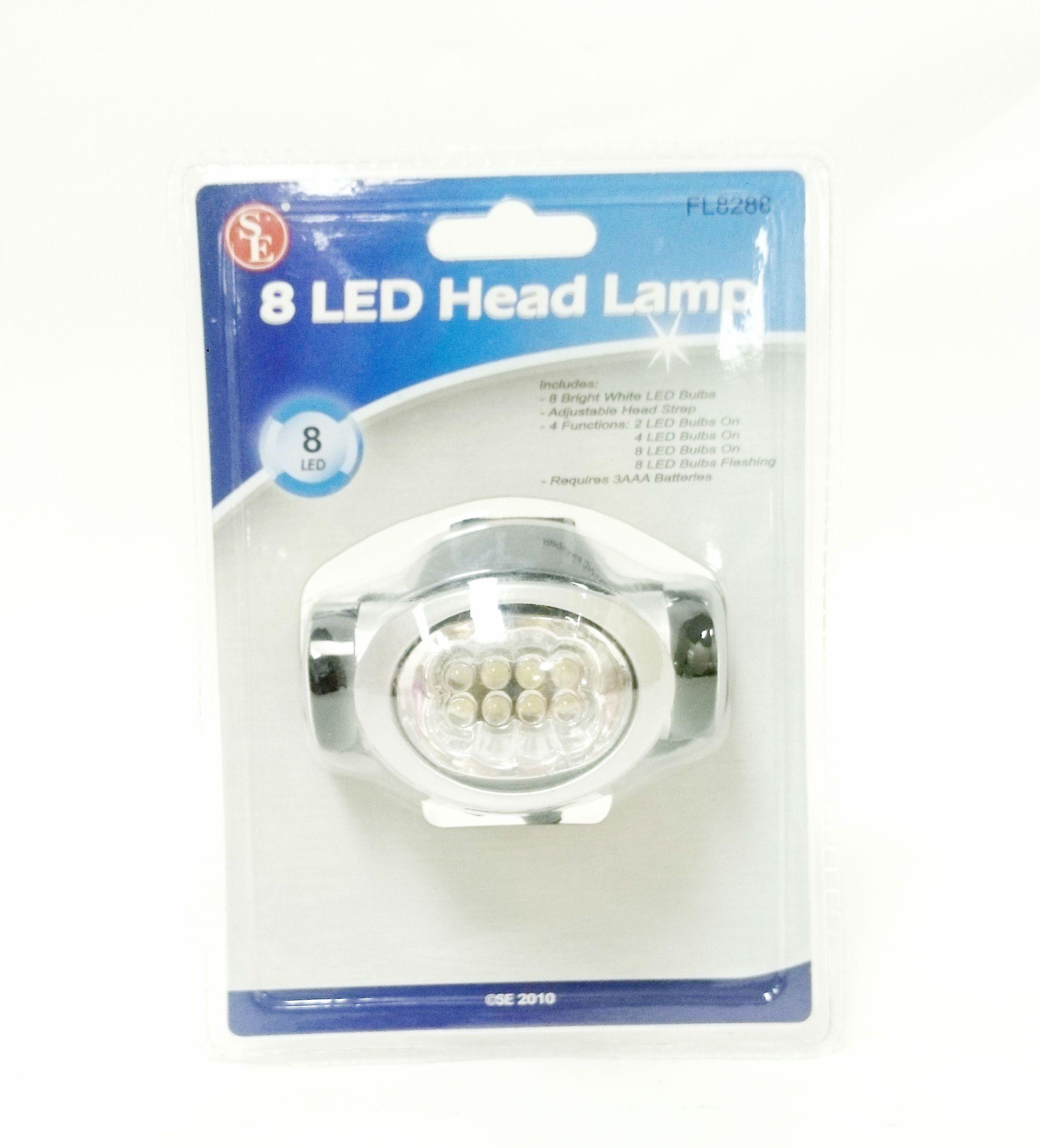 8 LED Head lamp only 2.99! Led head, Headlamp, Led