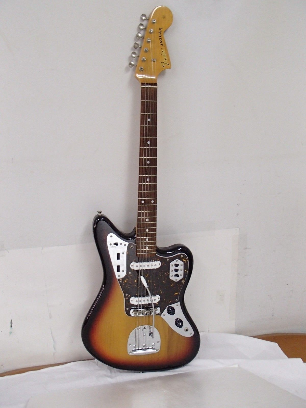 Fender Japan Jaguar Jg66 65 Reissue Mij Vintage 3t Sunburst T Series 2008 Fender Japan Electric Guitar Guitar