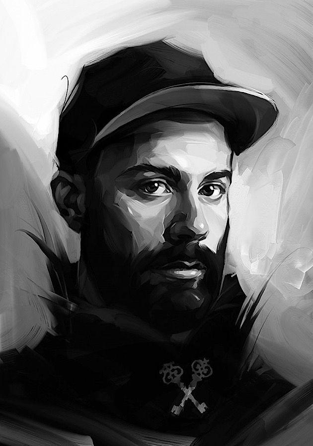 Viktor Miller-Gausa und seine digitalen Promi-Portraits