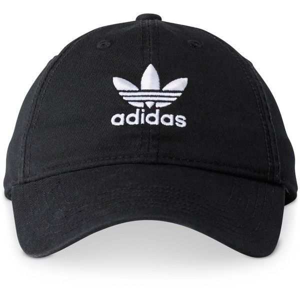 adidas Originals Cotton Relaxed Cap ( 24) ❤ liked on Polyvore featuring  accessories 52b8821c37