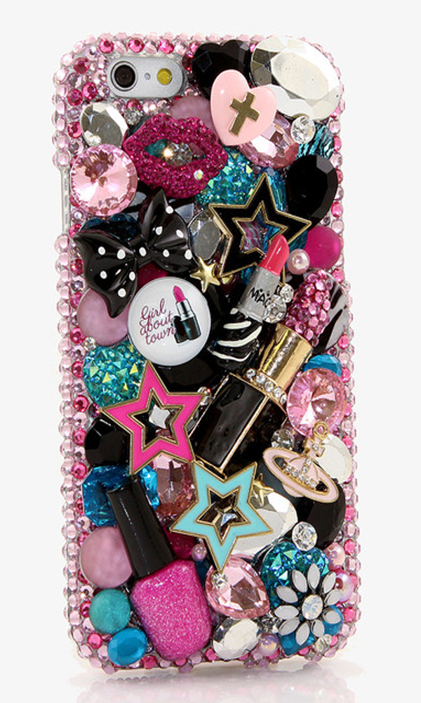 Makeup Lover Design (Style 796) Crystal phone case