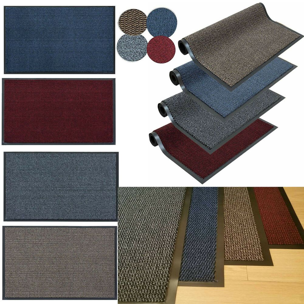 Best Details About Heavy Duty Non Slip Rubber Barrier Mat Large Small Rugs Back Door Hall Kitchen 400 x 300