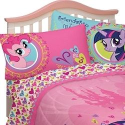 There Is Nothing Cuter Than A Little Girl In A My Little Pony Bedroom. Young