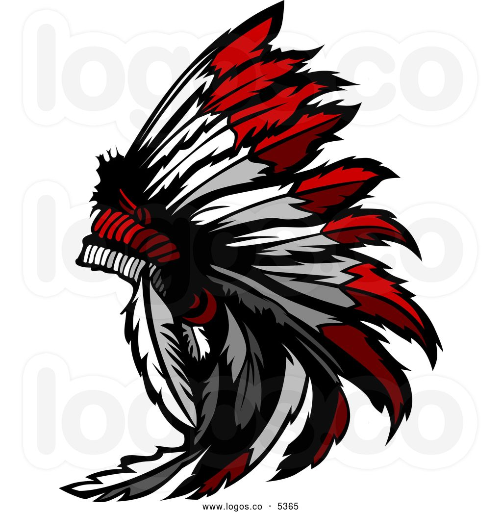 chief clipart royalty free vector of a logo of a native american rh pinterest co uk indian chief logo download