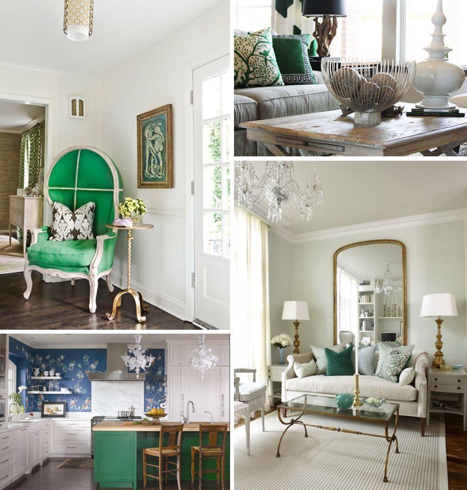 Chelsey Elizabeth Design Blog // Emerald Green Inspiration