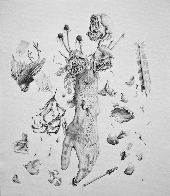 Sketch Is Just A Delicious Piece Of Human: Vintage Inspired Anatomical Drawings With A Twist By Andy