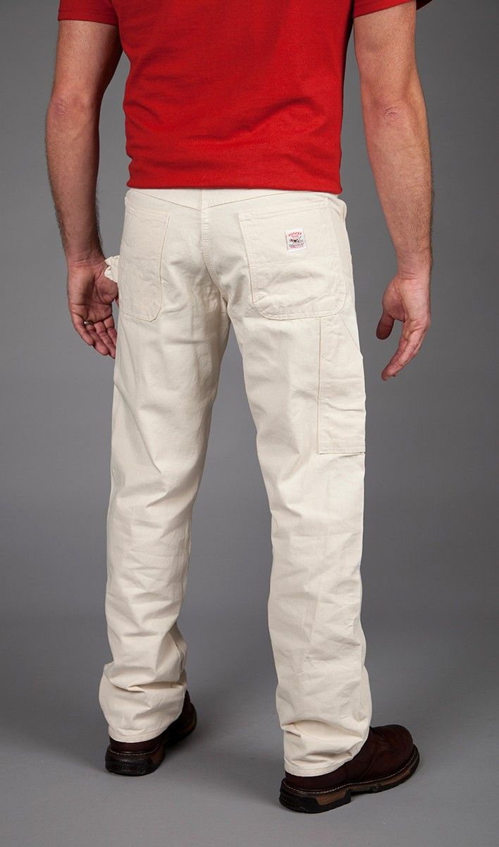 White Carpenter Pants