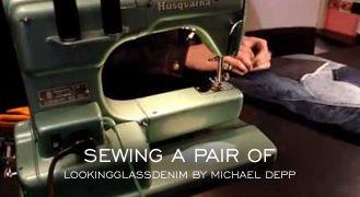 """Sewing A Pair Of Lookingglassdenim - Michael Depp""    http://www.denimfuture.com/watch-video/sewing-a-pair-of-lookingglassdenim---michael-depp"
