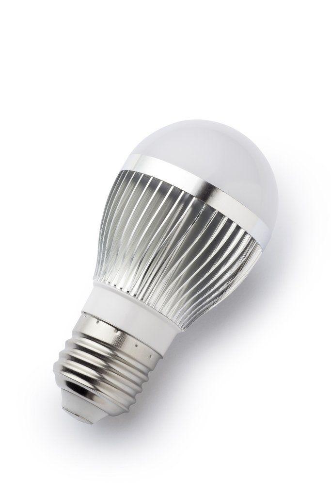 6W DC 12V-24V Aluminum Heat Sink LED Lamp For Solar Light Bulb ...