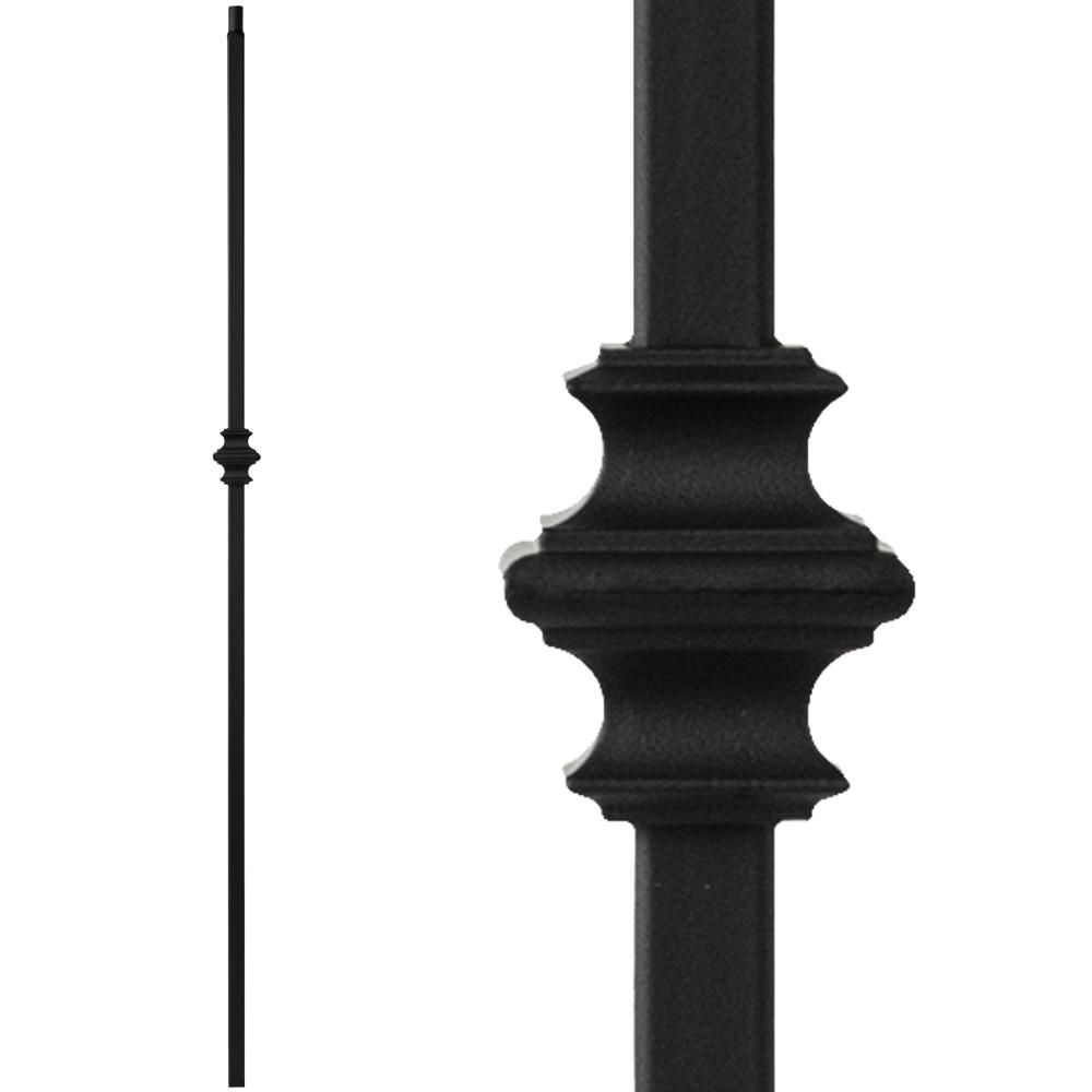 Best 34 1 34 T Mega Single Knuckle Hollow Iron Baluster Iron Balusters Cheap Stair Parts Iron 400 x 300