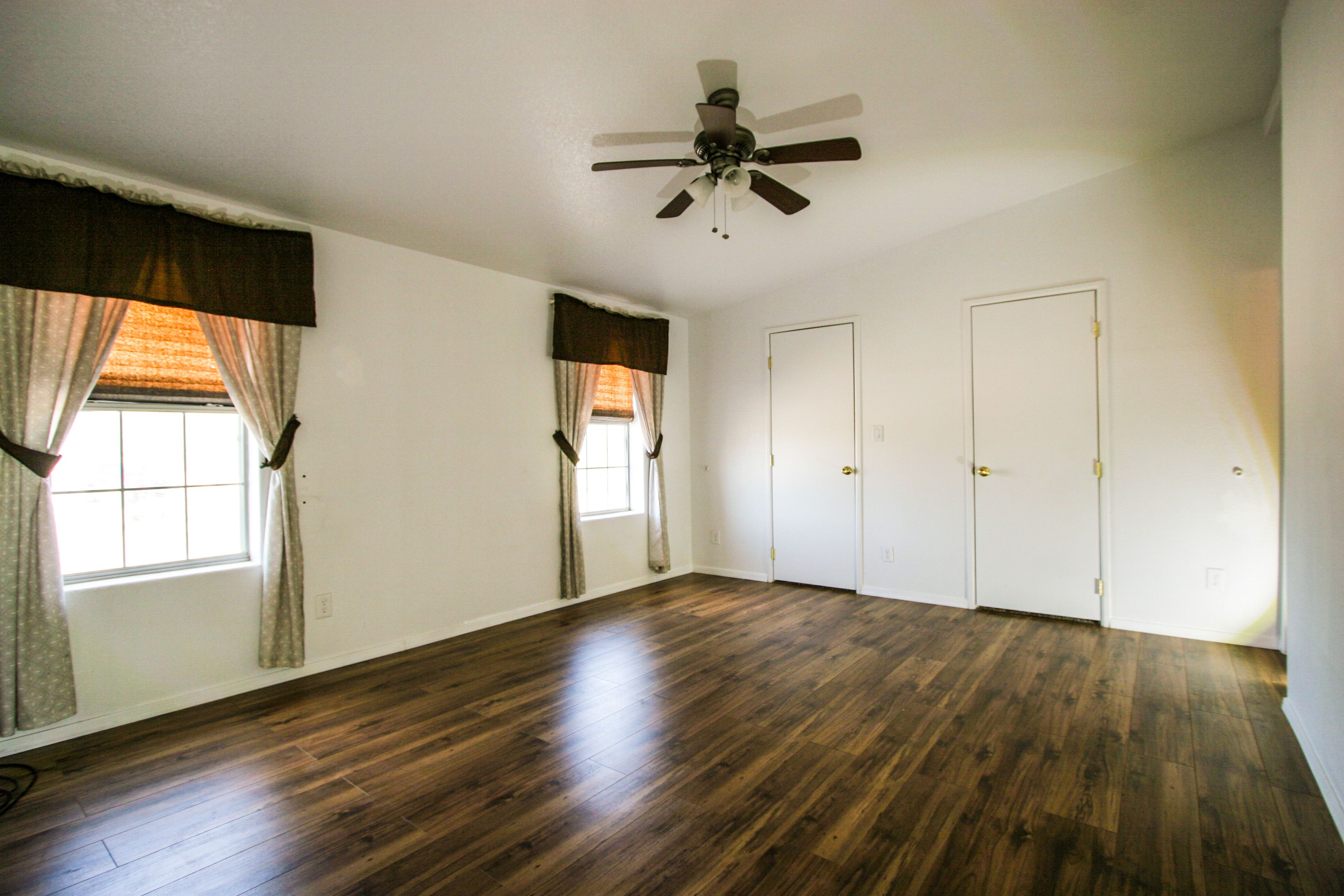 Master bedroom huge  ROOMY master bedroom with huge master closet Listed by Long Realty